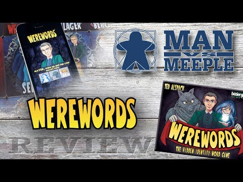 Werewords (Bezier Games) Review by Man Vs Meeple