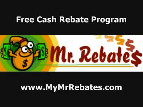 FREE Cash Back Rebates - FREE MONEY