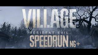 Resident Evil Village Speedrun [World Record] Any% | 1:39:24 | [NG+]