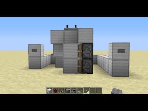 Hidden One Way Door With RS Nor Latch (Block Details in Description)