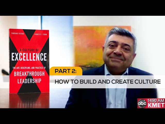 Interview with Dr. Fateri- Part 2: How to Build and Create Culture