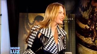 Romeo Santos y Luz Garcia Entrevista 2014 2/2 Noche De Luz