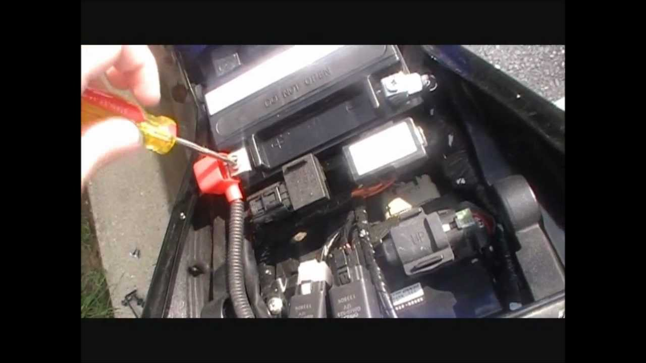 Suzuki Katana Battery