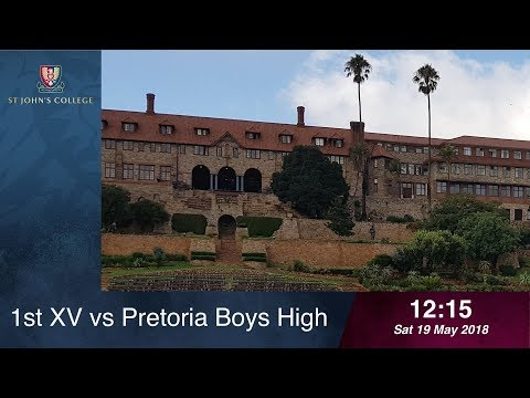 1st XV vs Pretoria Boys High