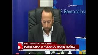 Directorio del Banco Unión posesionó a Rolando Marín como nuevo gerente
