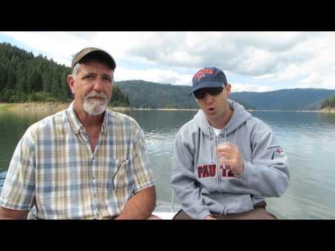 Dworshak Reservoir Kokanee Fishing