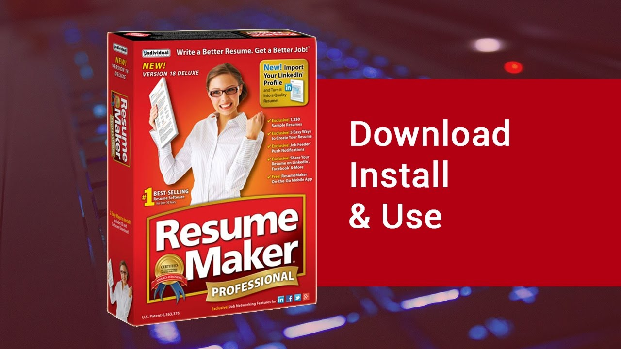 Resume Maker Professional 17 Deluxe, Download Install & Use | video ...
