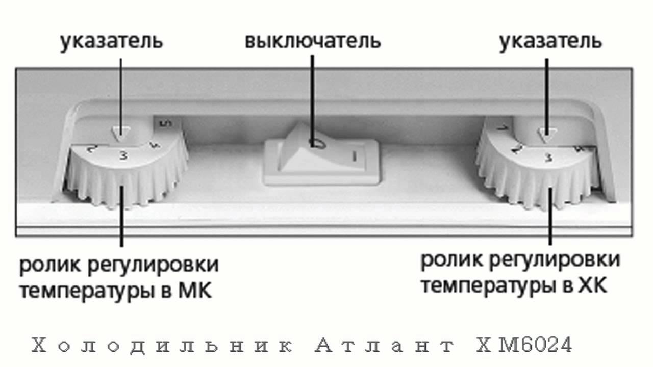 Атлант холодильник двухкомпрессорный инструкция