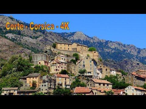 ��☠️ Corte - Corsica (4K)
