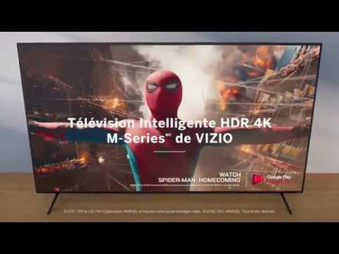 Télévision Intelligente HDR 4K MSeries de VIZIO  2018