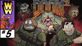 """""""Telephone Texture!'"""" - Doom 3 (Part 5) - Weekend Warriors!"""