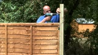 How To Fix Trellis Onto A Fence Panel By Taylors Garden Buildings