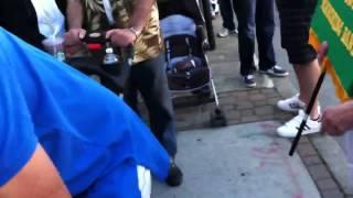 Burlingame Halloween parade oct 25 2012