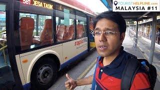 KUALA LUMPUR BUS: Bangladeshi advise Indian tourist - DON'T TRAVEL WITHOUT TICKET
