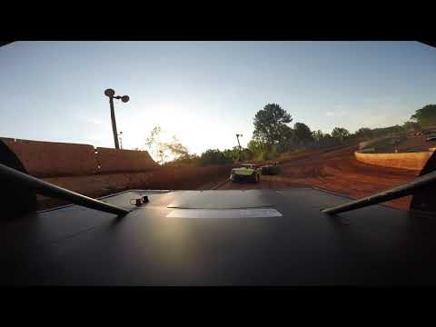 East Lincoln Speedway 5-18-19 Stock 4 Rear Cam Hot Laps Alexus Motes