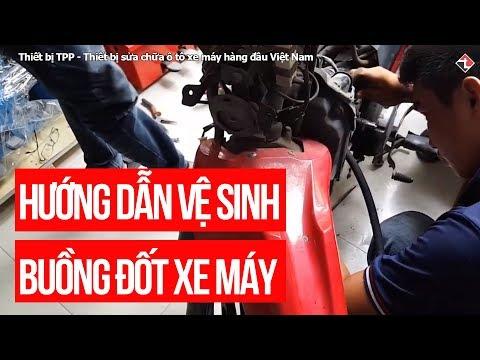 Hướng Dẫn Vệ Sinh Buồng đốt Xe Máy, Xe Tay Ga Phun Xăng điện Tử FI