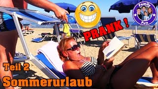 URLAUB am MEER VLOG Our life  SPEZIAL ⛱ Prank 😎 Party🎉 Feuerwerk Shopping Tour | FAMILY FUN thumbnail