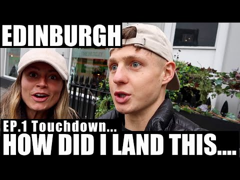 HOW DID WE LAND THIS...?! Edinburgh Weekend Travel VLOG (food, travel, training)