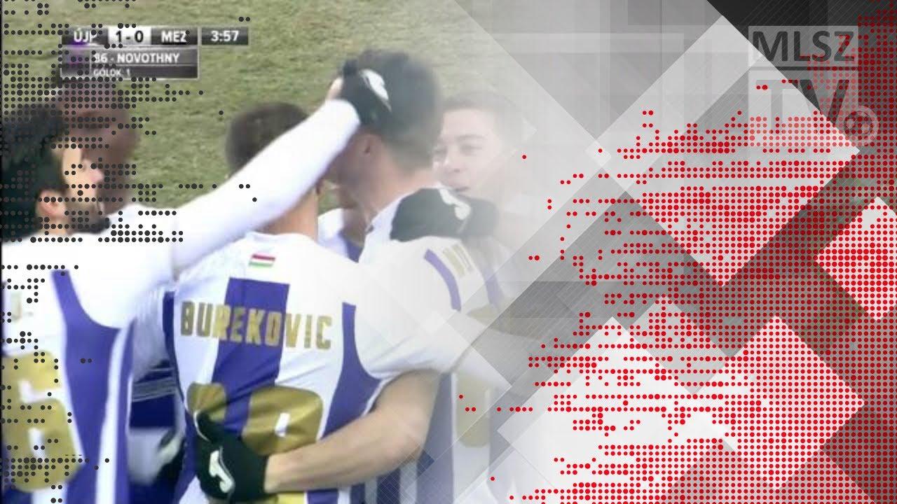 Novothny Soma Zsombor gólja az Újpest FC - Mezőkövesd Zsóry FC mérkőzésen