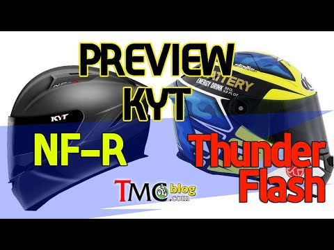 Preview New KYT Thunder Flash dan KYT NF-R