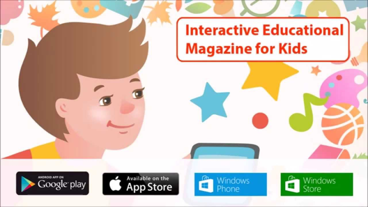 Educational Interactive Magazine for Kids