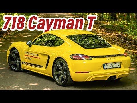 Porsche 718 Cayman T (2019) - Test în România