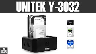 Unitek Y-3032 dokovací stanice dual HDD USB 3.0 - UNBOXING & Preview