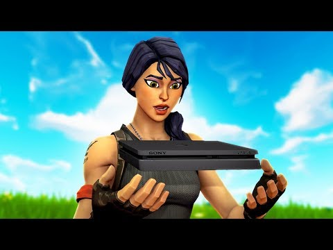 First Time Playing Fortnite On PS4