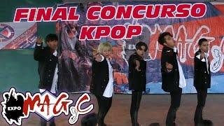Final del Concurso K-pop de Expo MAGyC 13
