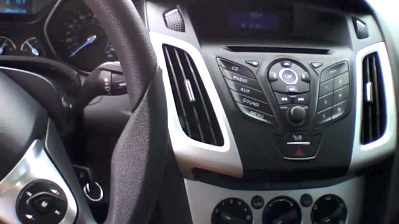 ford focus 2012 hatchback interior
