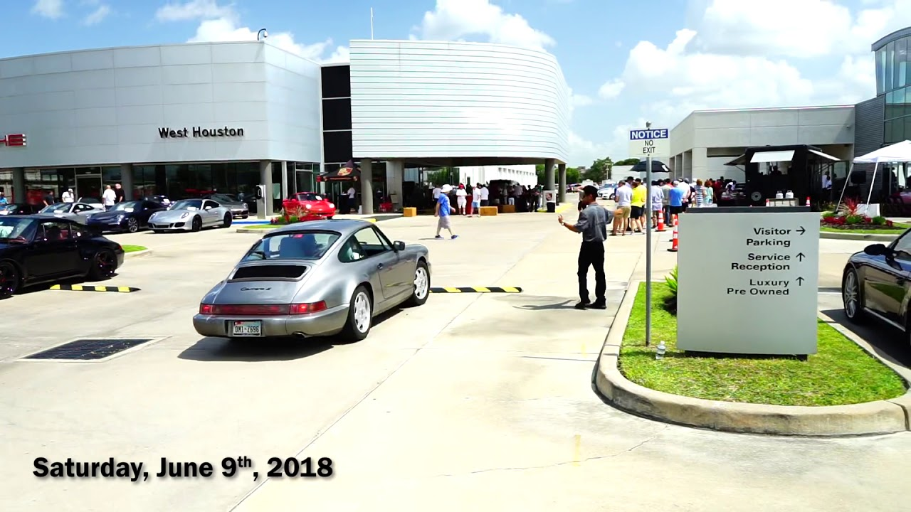 Porsche West Houston >> Sportscar Together Day At Porsche Of West Houston Youtube