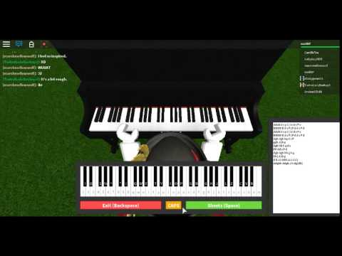 pokemon song in roblox piano keboard - YouTube