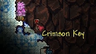 Dat moment when you get a Crimson Key 1 hour into hardmode (Terraria 1.2 lucky moment)