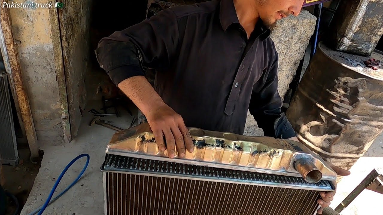 How to rebuild an old radiator and fitting