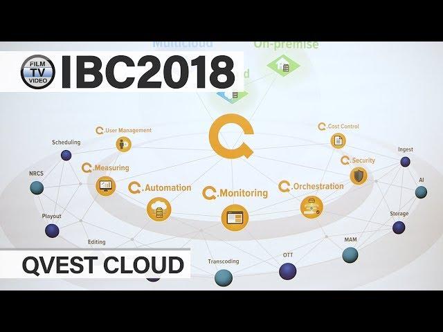 IBC2018: Erster Blick auf Qvest.Cloud