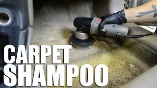 How to clean your car's carpet