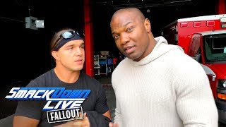 Benjamin & Gable have questions about WWE Clash of Champions: SmackDown LIVE Fallout, Dec. 5, 2017