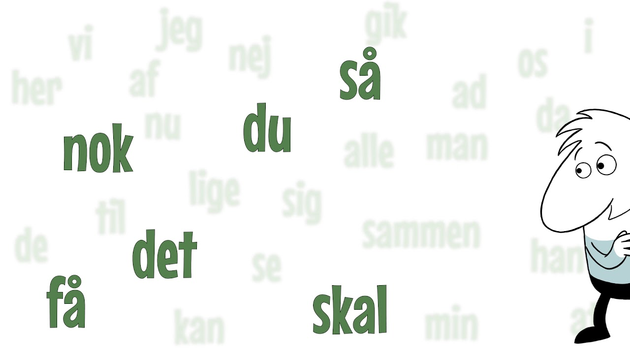 Grammatip.com - Dansk - De hyppigste danske ord