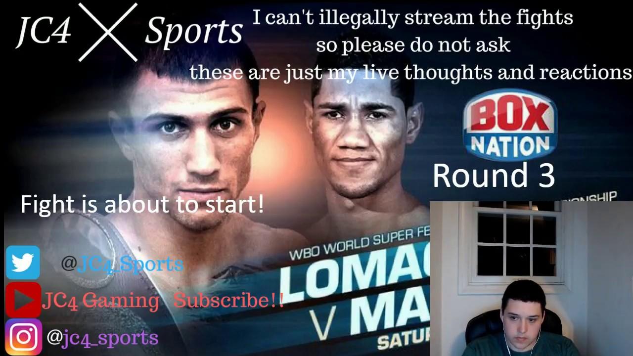 how to watch lomachenko vs marriaga game