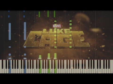 Luke Cage - Main Theme - Piano (Synthesia)