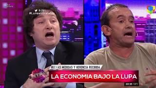 "Javier Milei contra un kirchnerista: ""Le tenés alergia al Excel"" Intratables- 06/02/17"