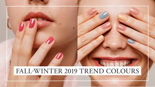 New Fall Winter 2019 Nail Polish Trend Colours I Kia Charlotta