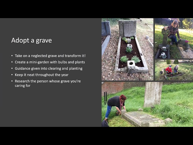 Volunteering with the Rectory Lane Cemetery project