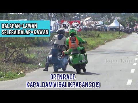 Saat Balapan Lawan, Selesai Balapan Kawan | Open Road Race Balikpapan 2019