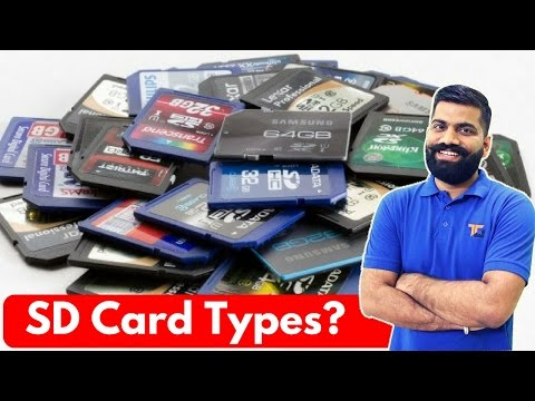 [Hindi/Urdu] SD Cards and their Different Class: Explained in Detail
