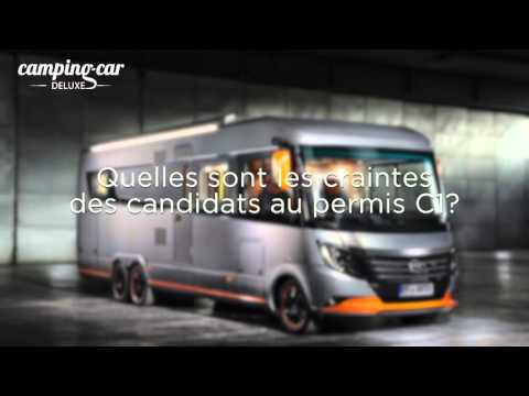 reportage permis c1 camping car poids lourd youtube. Black Bedroom Furniture Sets. Home Design Ideas