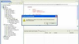 WDSC V1#6: Debugging a Program Using a  Service Entry Point