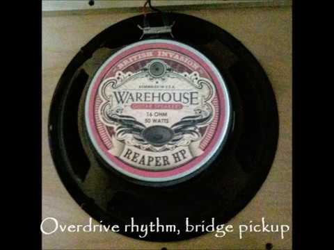 Warehouse Guitar Speakers' Reaper HP Demo