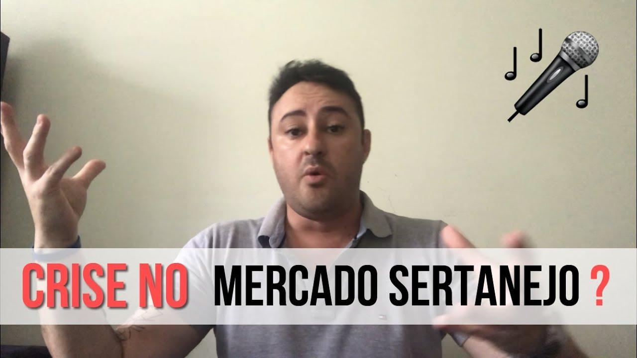 Mercado sertanejo - Crise ou oportunidade ? Minha visão sobre esse tema de crise na música sertaneja