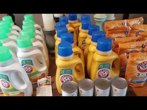 EXTREME COUPONING SAVED $160.10 (58 CENT)  LAUNDRY DETERGENT